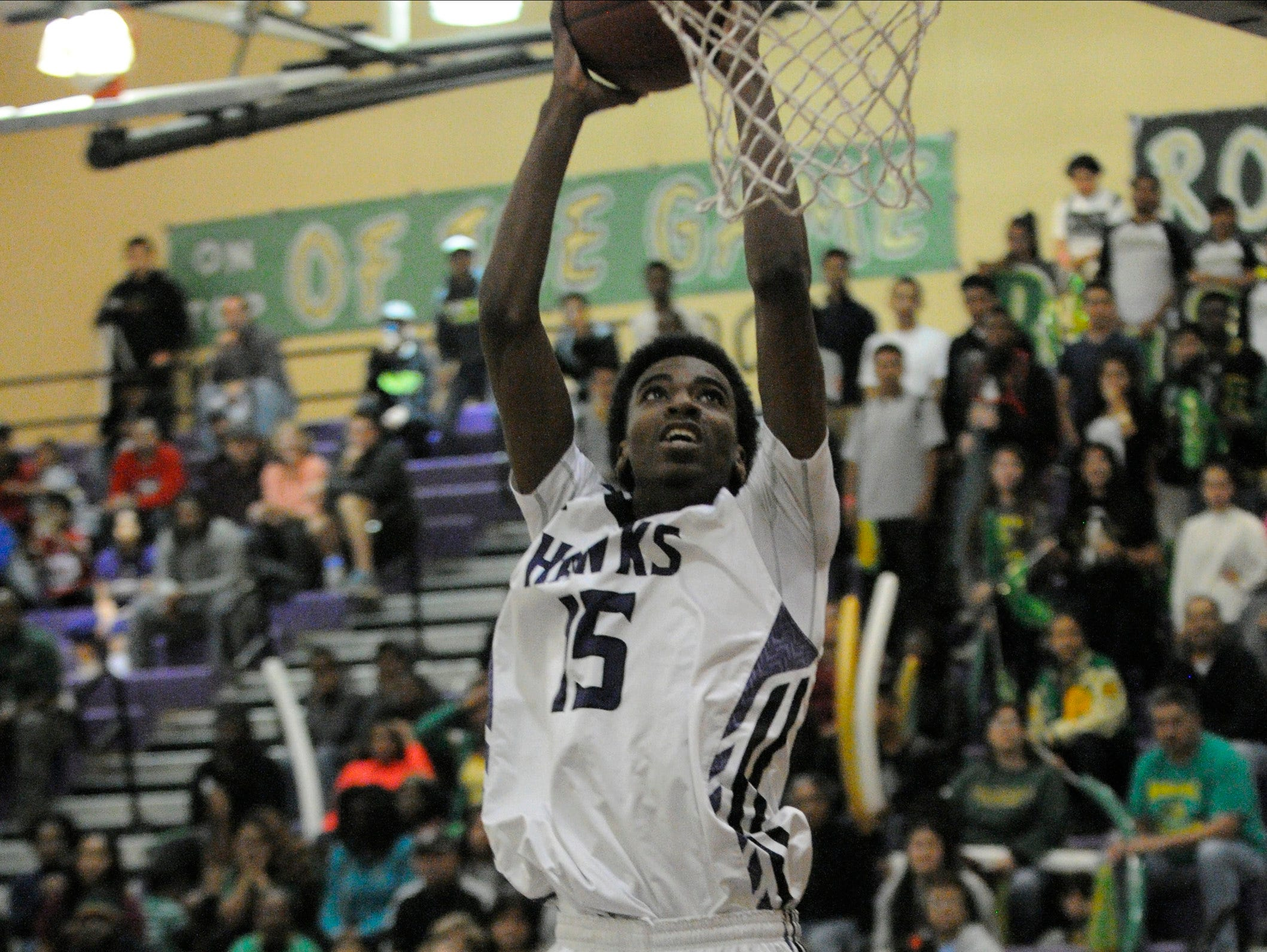 East Yosemite League most valuable player Jonell Burton was a 2014-15 Times-Delta/Advance-Register all-Tulare County boys basketball first-team selection.