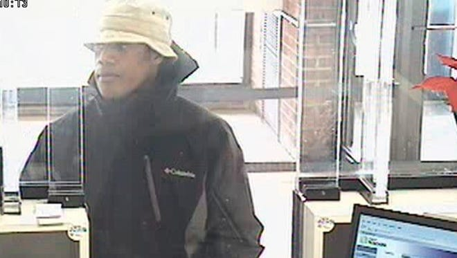 Police released a photo of a suspected bank robber from a reported robbery at First Niagara Bank on Lyell Avenue on Dec. 26.