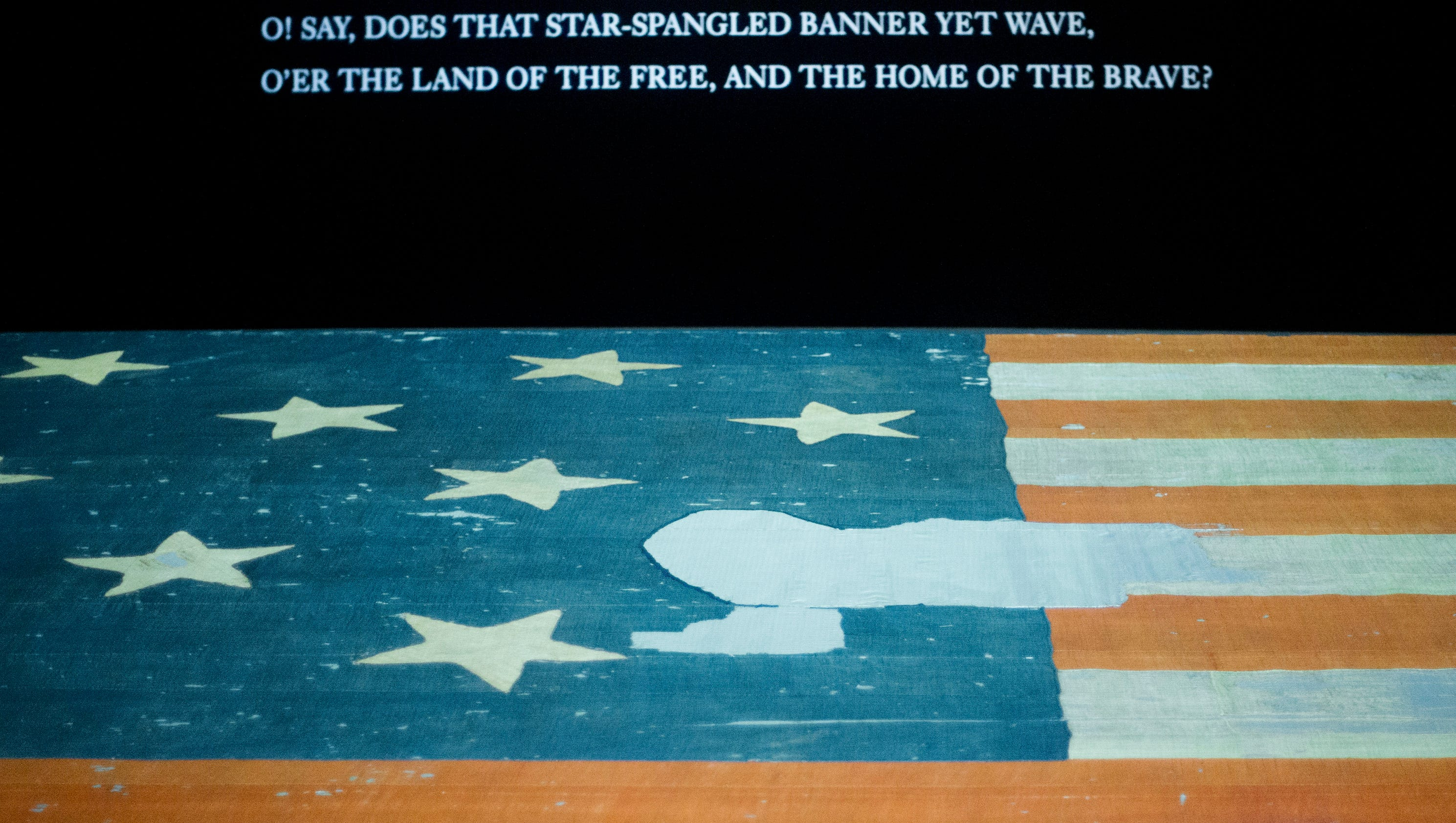 star spangled banner help Set to the powerful music of our national anthem, this poetic reading of the star  spangled banner captures the sacrifice of our military and encourages prayer.