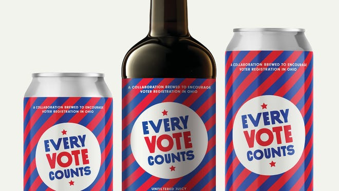 Craft breweries around Ohio are participating in a new initiative to encourage people to vote this fall. About 30 breweries have signed up to make Every Vote Counts.