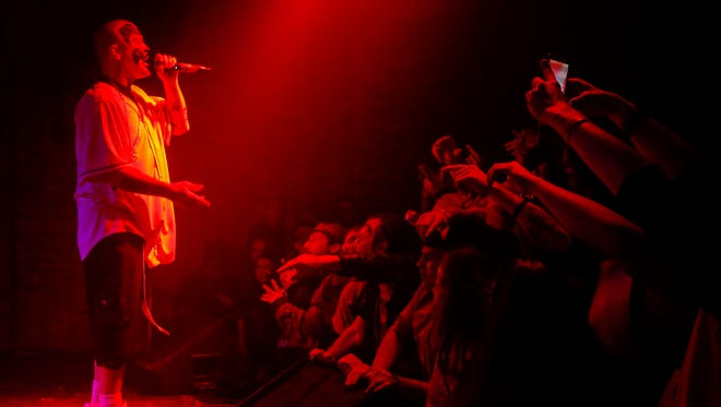 Insane Clown Posse returns to downtown Springfield for a concert held Aug. 7 at The Complex. In this Feb. 12, 2018 photo, Shaggy 2 Dope, one half of the hip-hop duo, performs at the Outland Ballroom.