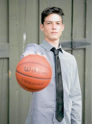 Redding Christian's Noah Vickery was in a fan-voting contest, hoping to compete in a national 3-point championship competition. However, the senior came up short in the online fan vote.