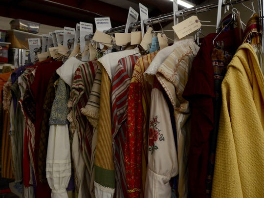 Wardrobe for the actors in the Hill Cumorah pageant