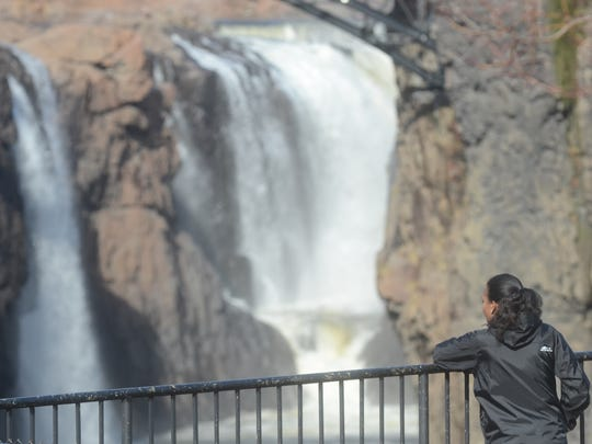 Great Falls Park in Paterson is one of 77 national parks to set a record for attendance in 2016.