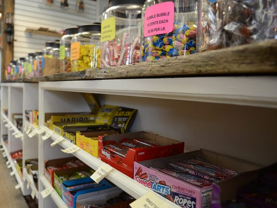 Back Porch Antiques has opened a candy section, called
