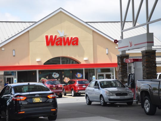 A newly renovated Wawa in Lewes.