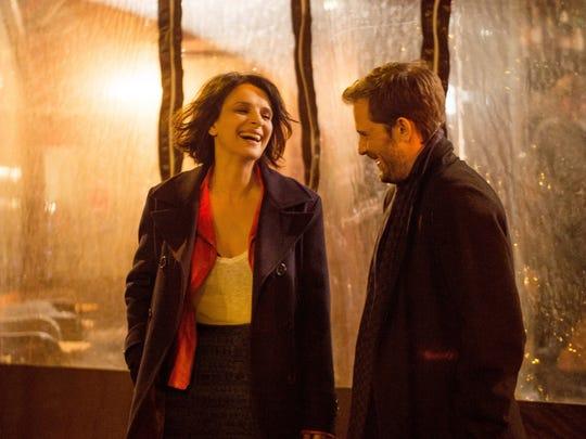 "Juliette Binoche and Nicolas Duvauchelle star in ""Let the Sunshine In."""