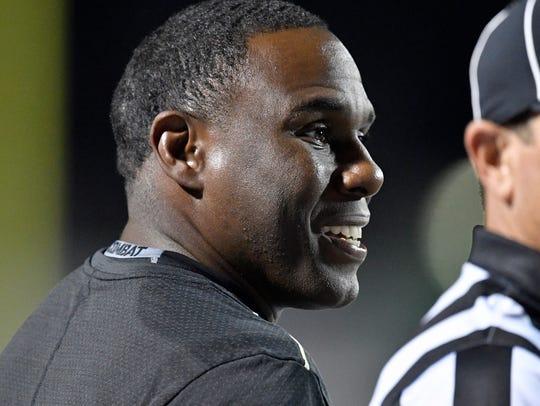 Vanderbilt head coach Derek Mason watches the closing