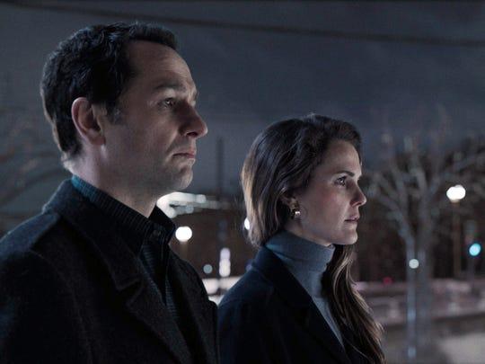 As returning spies Philip (Matthew Rhys) and Elizabeth