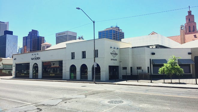 The Van Buren is a downtown Phoenix music venue owned by Crescent Ballroom's Charlie Levy.