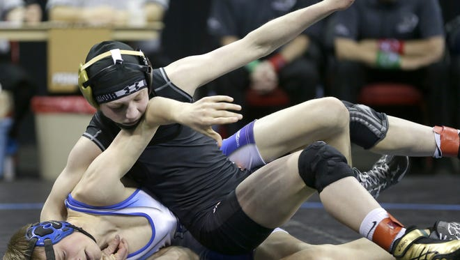 Former Stratford athlete Macey Kilty reached the Division 3 finals at 106 pounds during the WIAA state wrestling tournament in 2016. There is the feeling there could be a girls division in  Wisconsin in the near future.