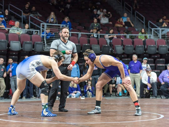 Spanish Springs won the 4A state wrestling title on Friday night in Las Vegas.