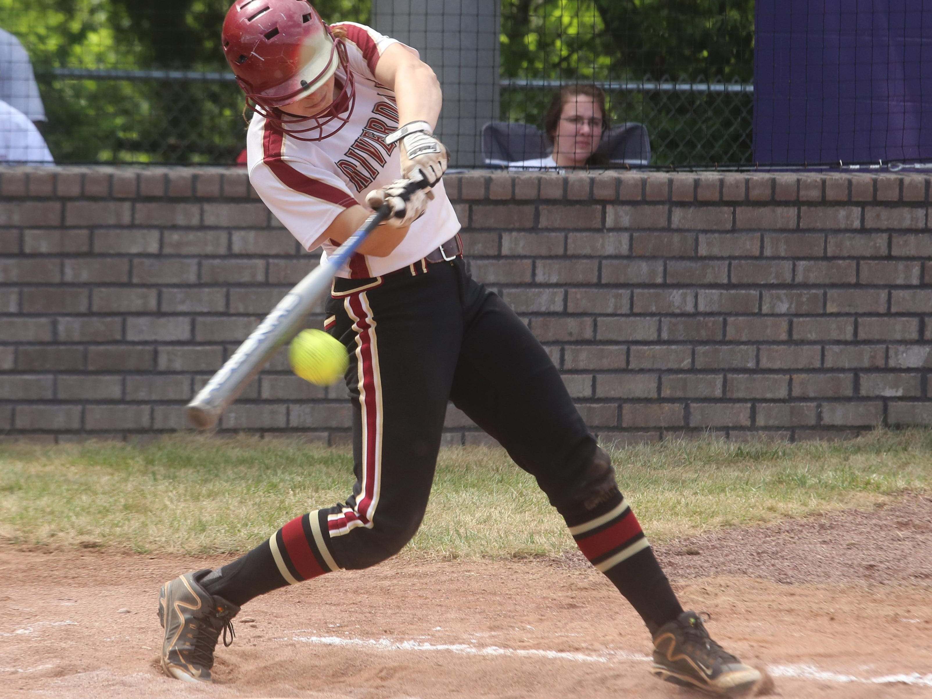 Riverdale's Sarah Higgins was named to the TSWA Class AAA All-State Softball Team on Friday.