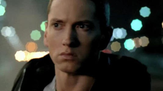 Chrysler has long aired commercials during the Super Bowl featuring, from left, Eminem, Clint Eastwood and Bob Dylan.