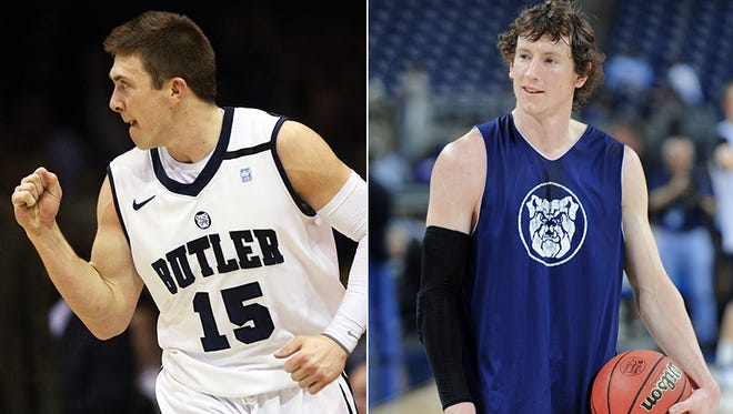 Former Butler standouts Rotnei Clarke and Matt Howard have signed new overseas contracts.