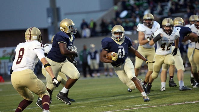 Cathedral running back Markese Stepp