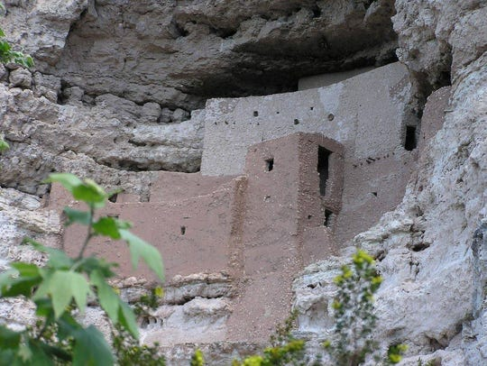 Montezuma Castle is one of the best preserved prehistoric