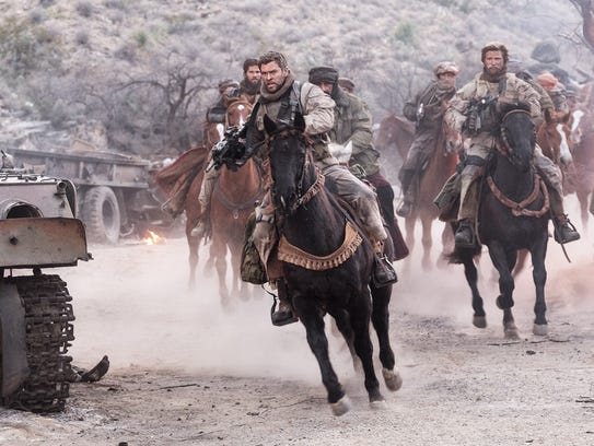 Chris Hemsworth leads the charge in '12 Strong.'