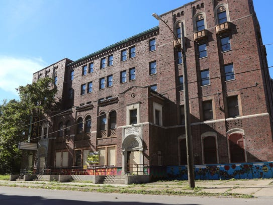 1601 Clark in Detroit was once a YMCA.