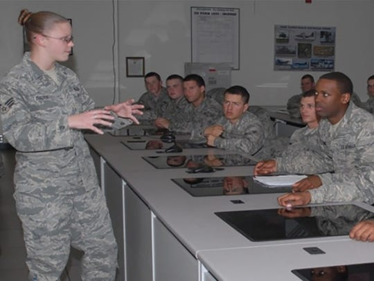 Service members receive linguistics training at Goodfellow