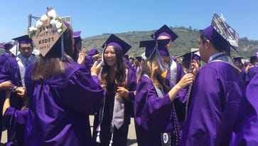 Camarillo's Rancho Campana High School holds first graduation