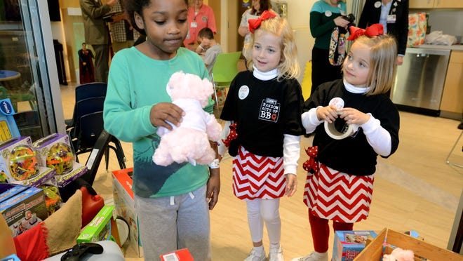 The Children's Hospital at Sacred Heart has launched a Christmas in September Toy Drive, seeking donations of toys for the hospital playrooms and child life program.