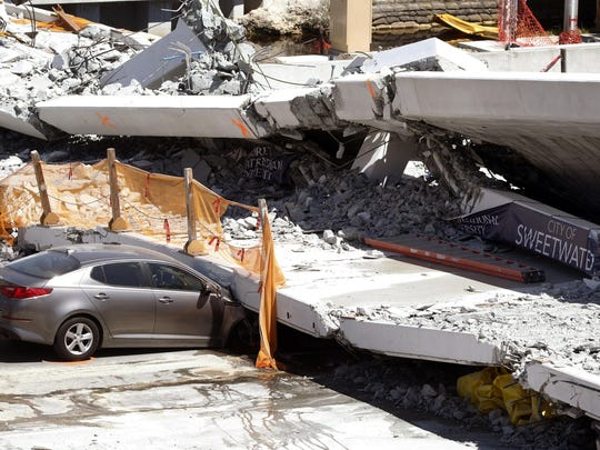 University Bridge Collapse