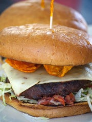 Cold Beers and Cheeseburgers in Scottsdale has a burger
