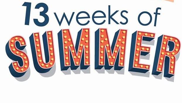 13 Weeks of Summer. Jen, Kala & Michele