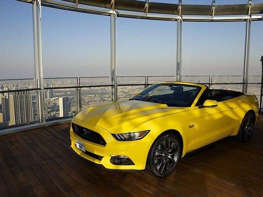 Mustang-Dubai