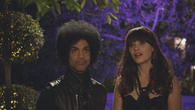 Prince amps up the post-Super Bowl episode of 'New Girl' with Zooey Deschanel.