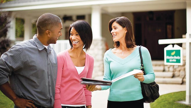 Married and partnered adults should have a frank discussion about financial matters before buying a house.