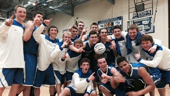 The Haldane High School boys basketball team is heading to the state final four.