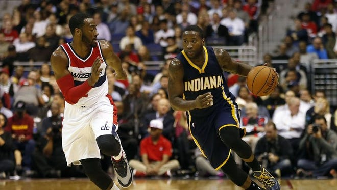 John Wall wants to stop the Pacers' drive to the playoffs