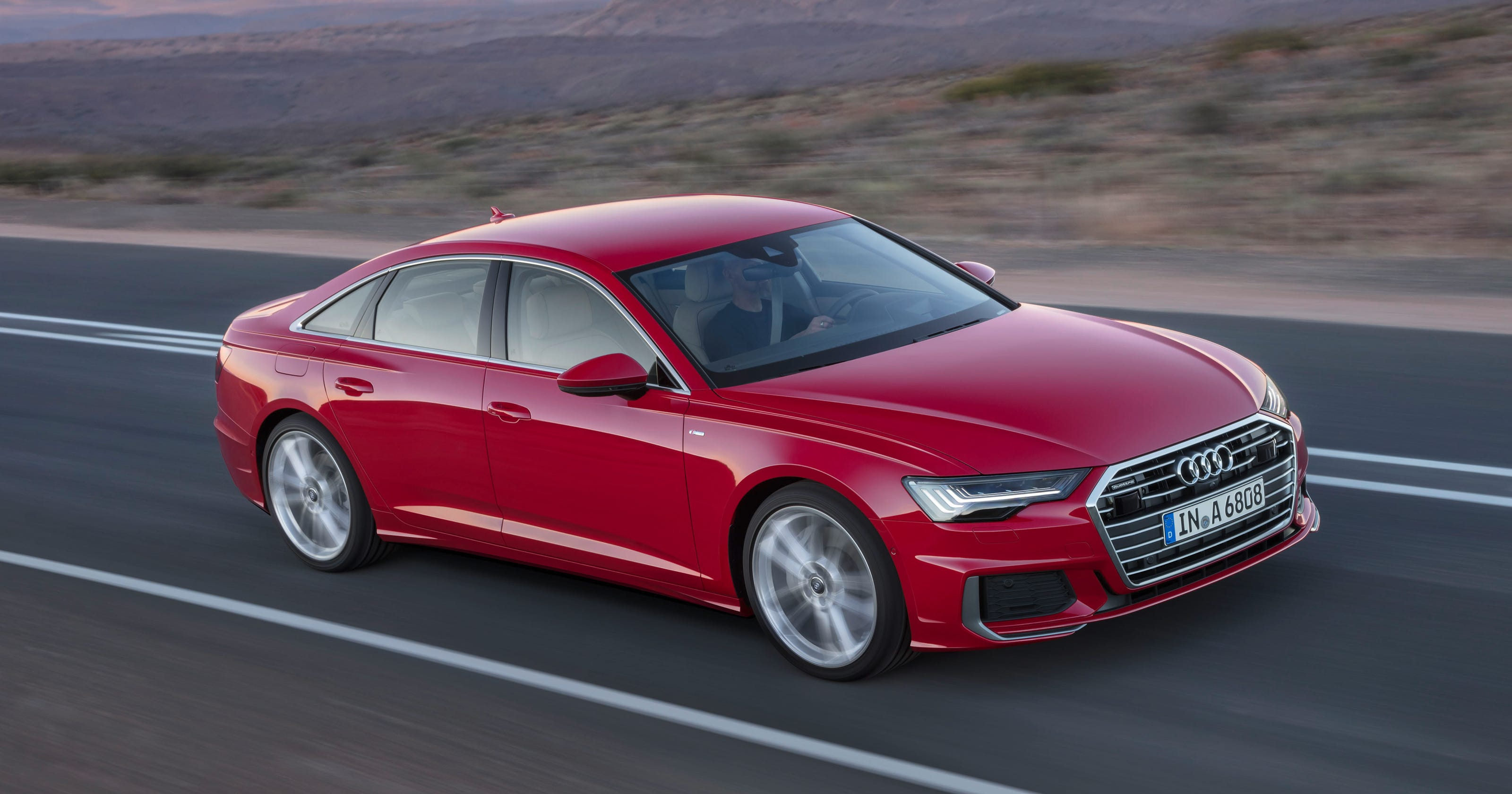 Audi's 8th-generation A6 gets big technology upgrade