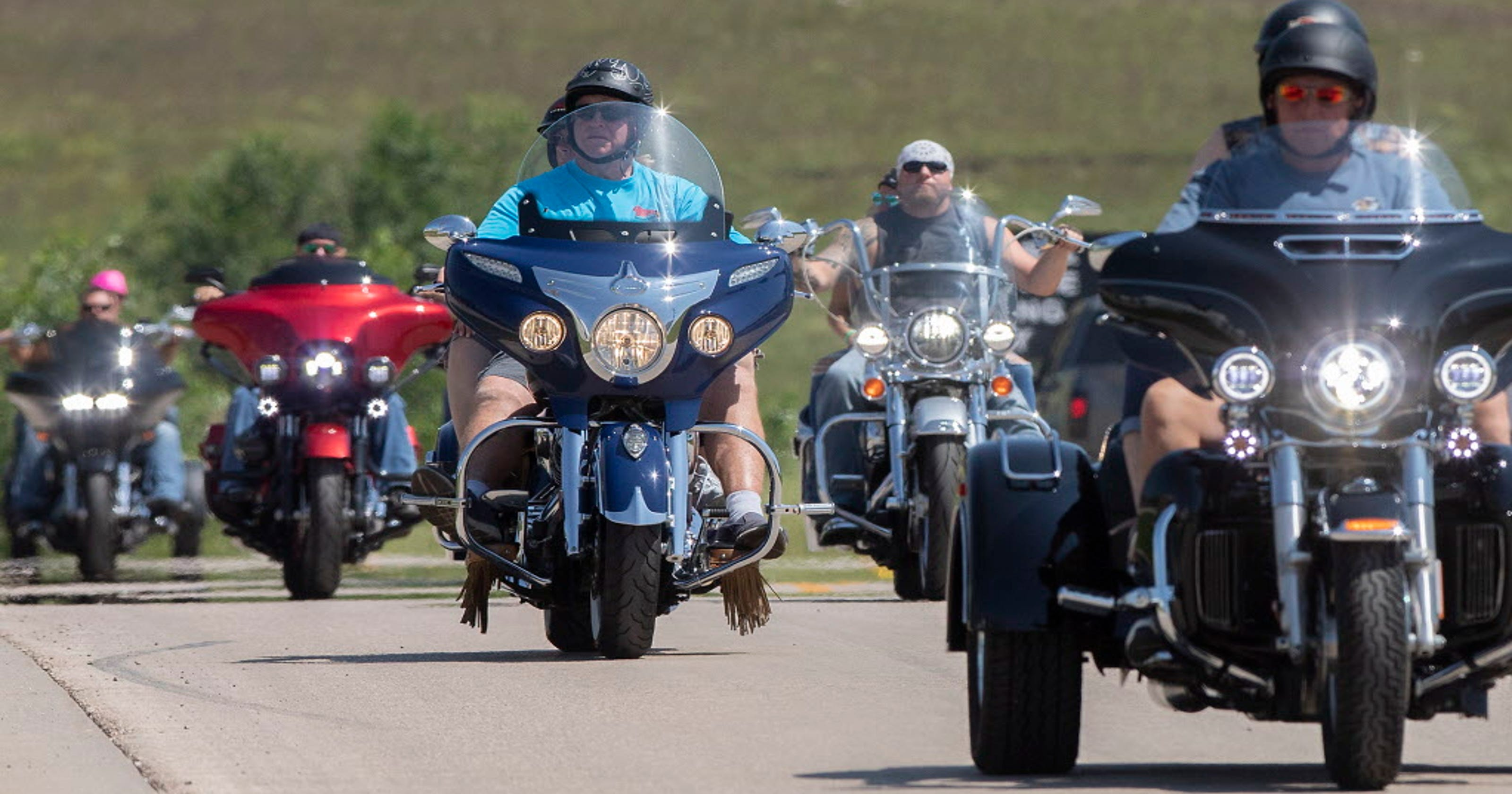 COVID-19 cases tied to the Sturgis motorcycle rally have