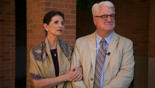 Diane and John Foley, parents of slain journalist James Foley, expressed frustration at how the U.S. handled their son's case.