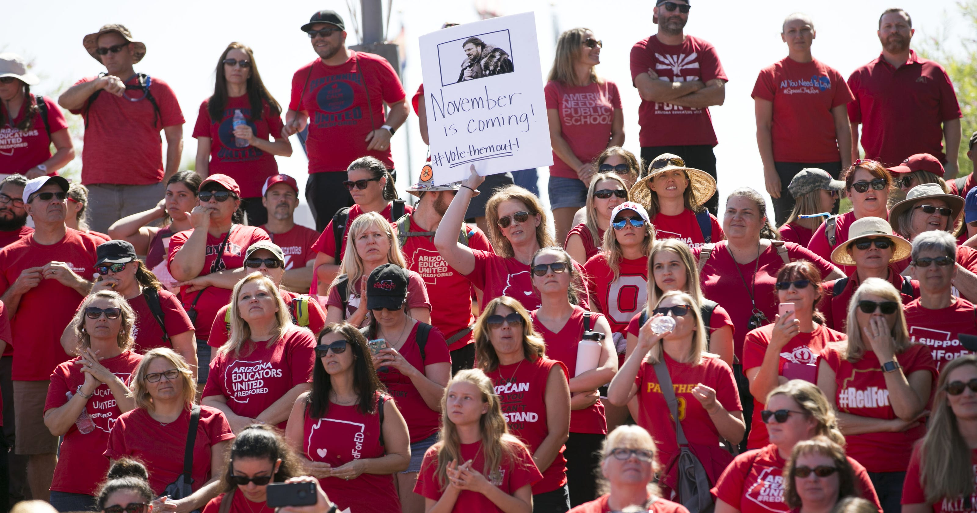 c2dd5d4d Arizona's #RedForEd movement evolves into quieter, broader political force