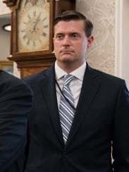 White House staff secretary Rob Porter -- a near-constant