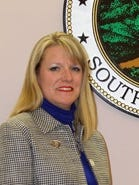Jennifer Willis, chairwoman of the Pickens County Council, presided over her final meeting Monday night.