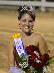 Tiffany Huffman is last year's winner of the Miss Boone County Beauty Pageant.