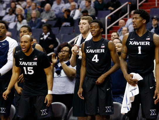 Xavier routed Georgetown on Saturday and is in contention