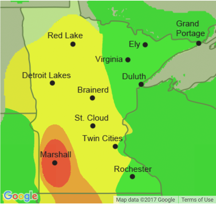 Canadian wildfire causes air quality issues locally