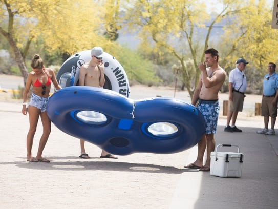 The opening of Salt River Tubing proved to be a great