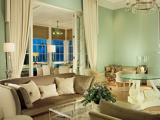 Coworth Hotel Drawing Room