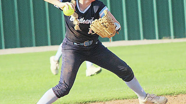 Bartlesville High School's Brynlee Dryden is one of the key returnees on the softball diamond. Mike Tupa/Examiner-Enterprise
