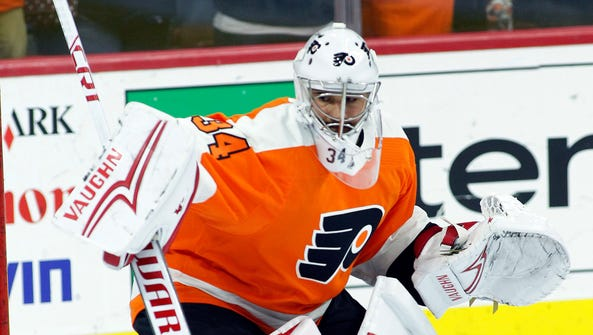 Petr Mrazek will likely get his first start as a Flyer