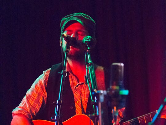 Gregory Alan Isakov performs at Radio Radio in Indianapolis, Sunday September 21st, 2014.