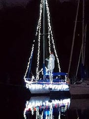 Western Carolina Sailing Club Parade of Lights will be this weekend at Green Pond Access.