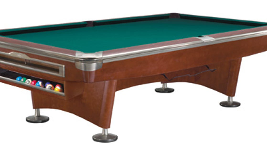3 herron students vie to design new brunswick pool table for Pool table 6 x 3